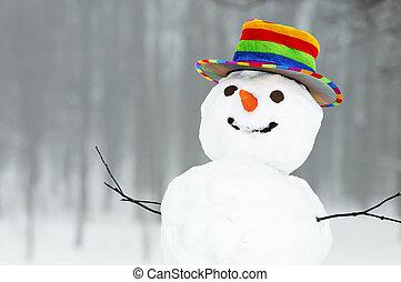 Sněžný sněhulák