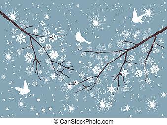 Sněžný strom