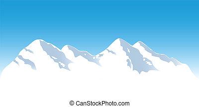 Sněhové hory