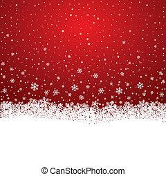 Sněhový sněžný hvězdný bílý pozadí