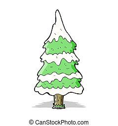 Sněhový strom