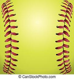 Softballové lacesové pozadí