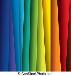 spektrum, nebo, barva, barvitý, plochy, graphic., abstraktní, noviny, (backdrop), duha, grafické pozadí, ilustrace, -, vektor, být dělitelný, tato