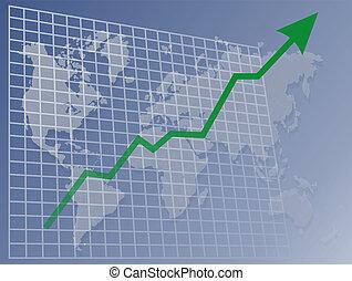 společnost, graf, up