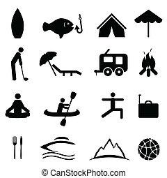 Sportovní a rekreační ikony