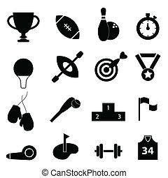 Sportovní ikonová sada