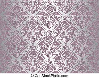 Stříbrné a růžové tapety