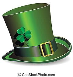 St. Patrickův denní klobouk