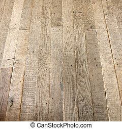 Starý dřevěný patro