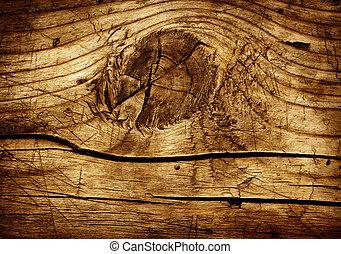 Starý dřevo