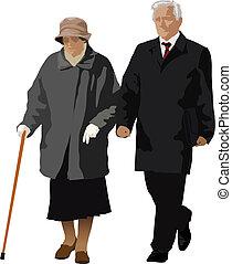 Starý pár