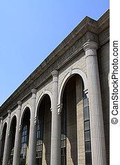Starobylá čínská architektonická architektura