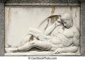 starobylý skulptura