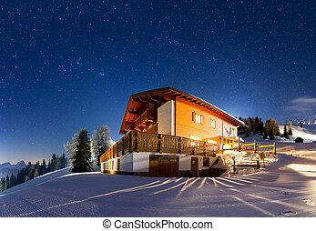 Starry panorama