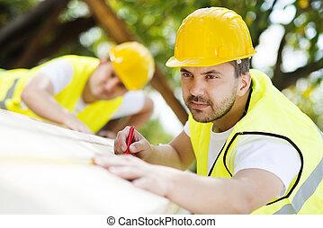 Stavební dělníky
