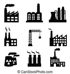 stavení, průmyslový