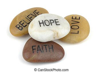 stones, inspirational