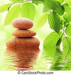 stones, zen