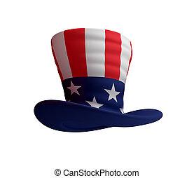Strýček Samův klobouk.