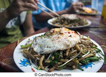 strava, kambodžan