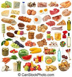 strava, vybírání