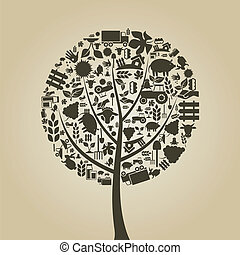 strom, zemědělství