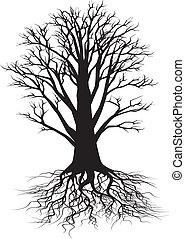Stromová silueta