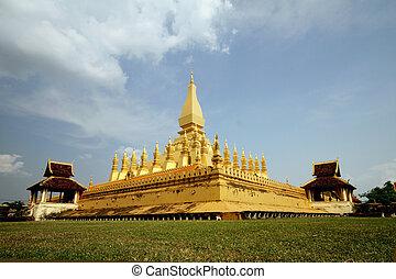 stupa, zlatý