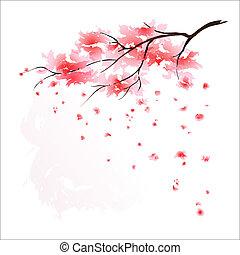 Stylizovaný japanský strom