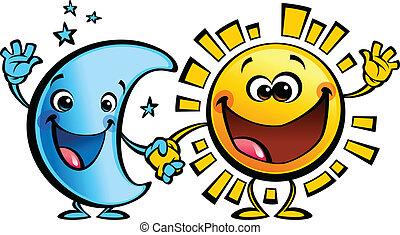 Sun a Moon nejlepší přátelé