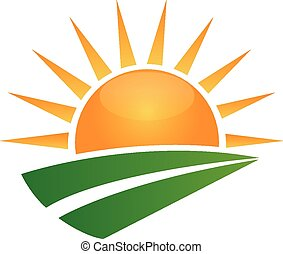 Sun a zelený logo