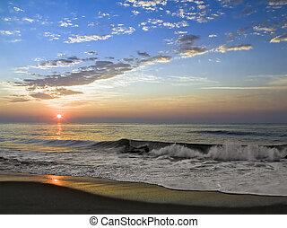 Sunrise surfuje