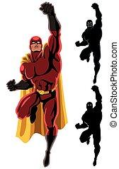 Superhero letí