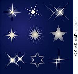 Světlé hvězdy