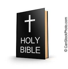 Svatá Bible. Knihu s křížem