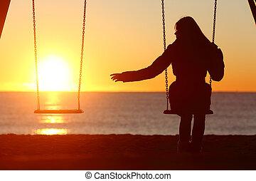 Svobodná nebo rozvedená žena sama o sobě