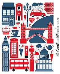 symbol, londýn, vybírání