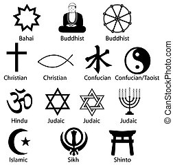 symbol, mnich