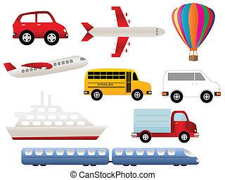 Symboly transportu