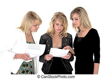 Tři obchodní ženy