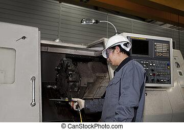 technik, stroj, cnc, mechanický
