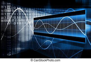 technika, multimedia, data