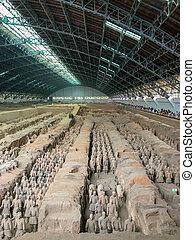 Teracotta vojska, xi'an, Čína