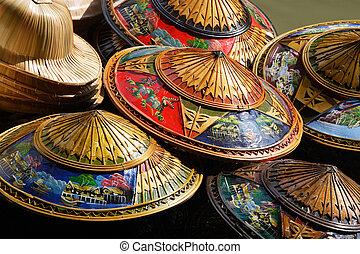 thajsko, klobouky