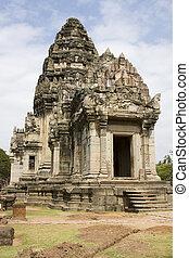 thajsko, věž, phimai