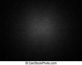Tmavá černá parchie