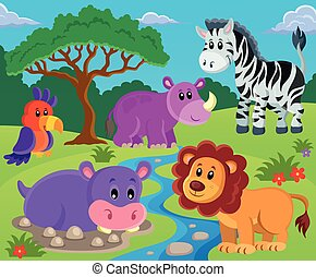 topic, podoba, 2, živočichy
