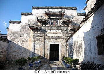 Tradiční číňská brána