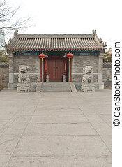 Tradická čínská budova