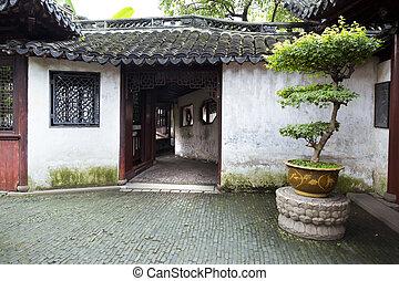 Tradická zahrada, shanghai